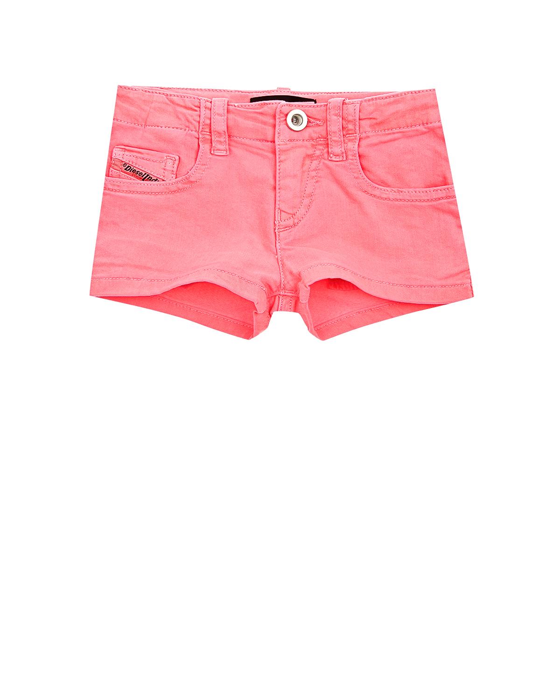Короткие джинсовые шорты Diesel детские фото