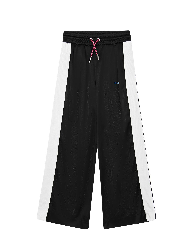 Купить Спортивные брюки с лампасами Diesel детские, Черный, 100%полиэстер