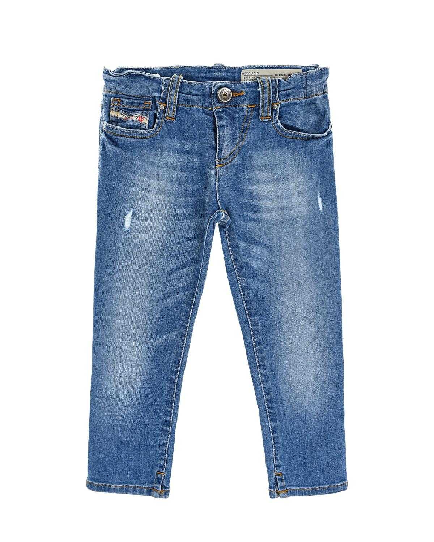 Купить со скидкой Брюки джинсовые Diesel детские