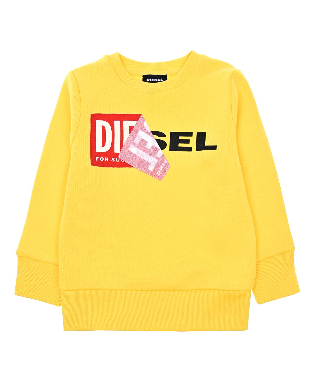 Купить Свитшот из флиса с логотипом Diesel