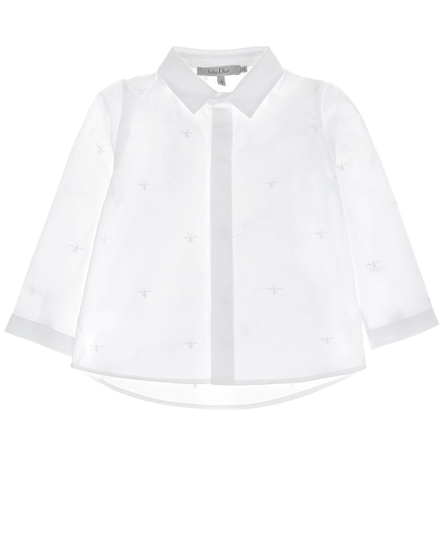 Купить Рубашка из хлопка с вышивкой Dior