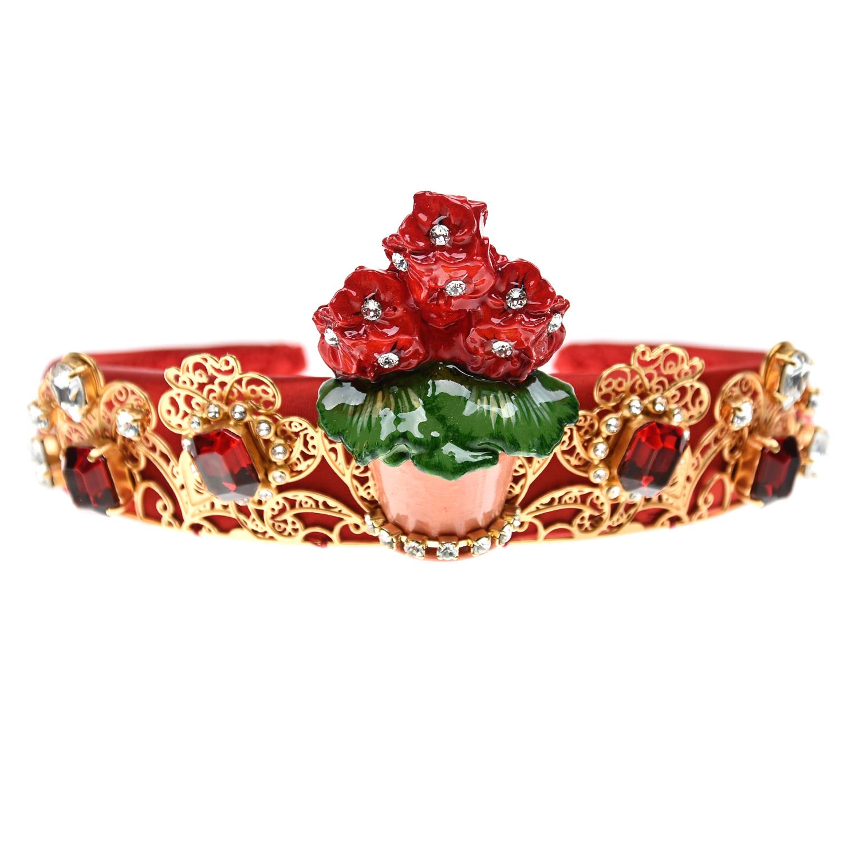 Купить со скидкой Ободок с диадемой Dolce&Gabbana детский