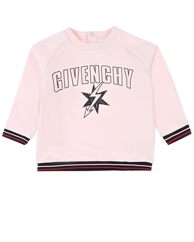 Свитшот с застежкой на кнопки Givenchy детский фото