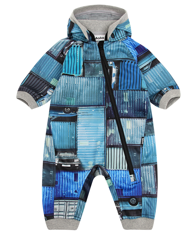 Купить Комбинезон MOLO детский, Синий, 100%полиэстер