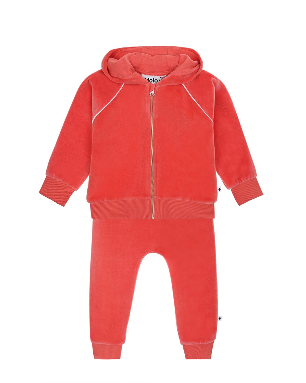 Купить Костюм спортивный MOLO детский, Розовый, 80%хлопок+20%полиэстер
