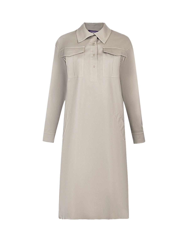Платье-сафари для беременных Monamoon фото
