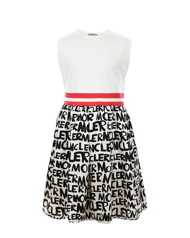 Платье без рукавов Moncler детское фото