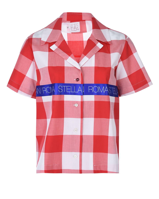 Рубашка в клетку Stella Jean фото