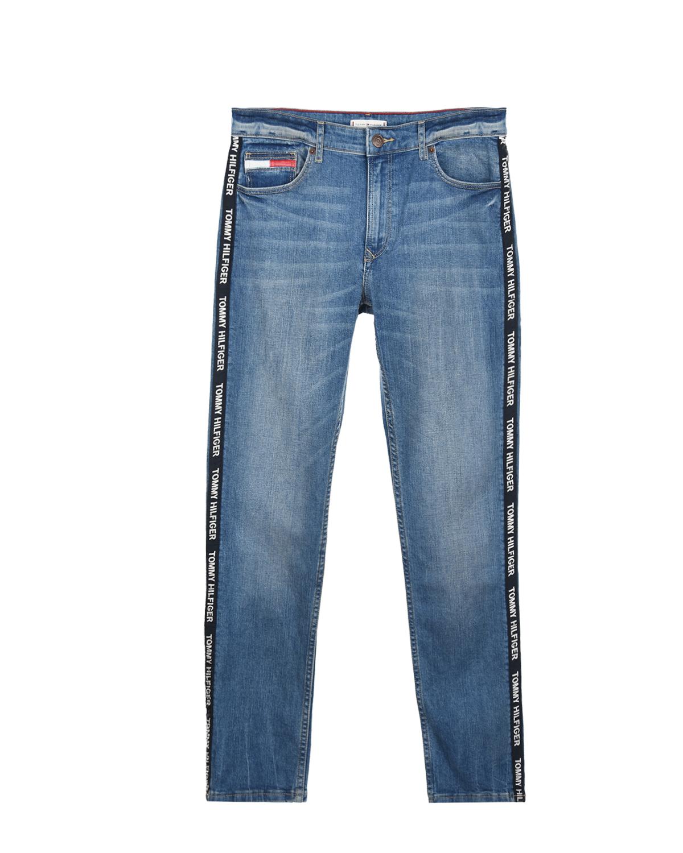 Купить Брюки джинсовые Tommy Hilfiger детские, Голубой, 98%хлопок+2%эластан