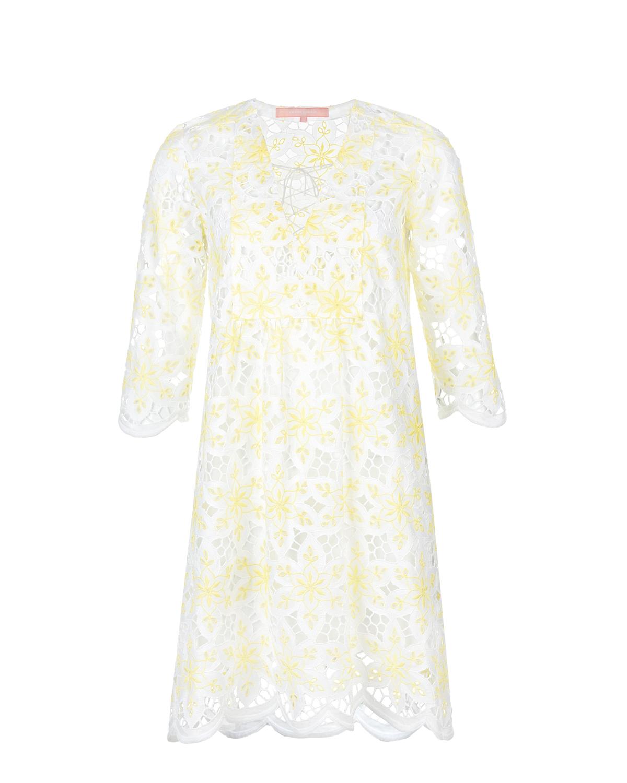 Мини-платье с V-образным вырезом Valerie Khalfon фото