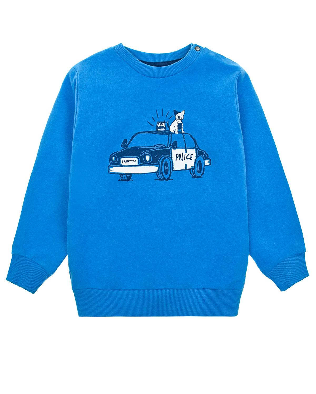 Свитшот Sanetta Kidswear детский фото
