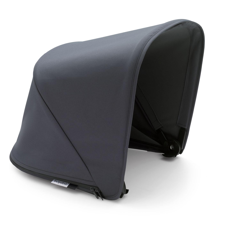 Купить Капор раздвижной Bugaboo Fox/Cameleon 3Plus, steel blue, Серый, 100% полиэстер