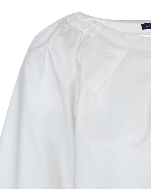 Свободная блузка из хлопка для беременных Monamoon