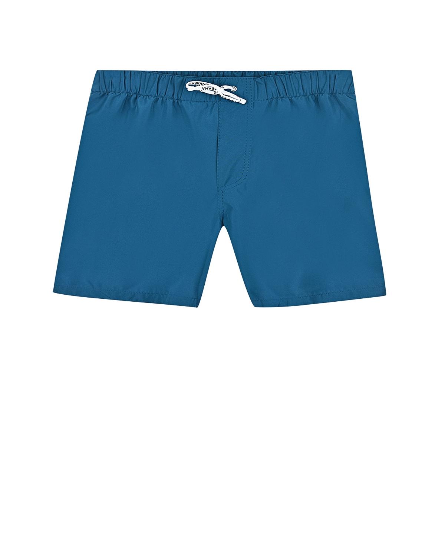 Купить Шорты для купания Dolce&Gabbana детские, Голубой, 100%полиэстер, 100%полиамид