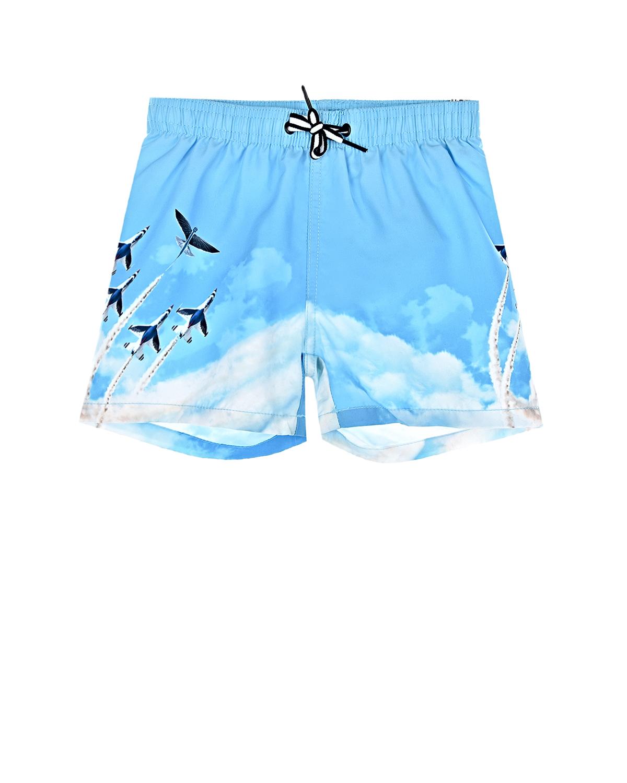 Купить Шорты для купания Air Show Molo детские, Голубой, 100%полиэстер