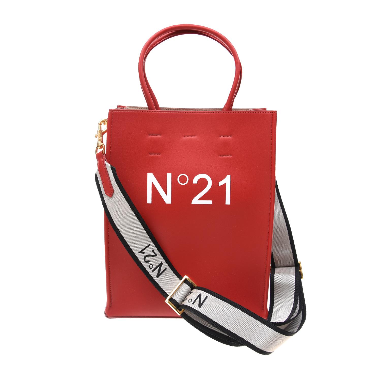Купить Красная сумка-шоппер, 16x30x23 см No. 21 детская