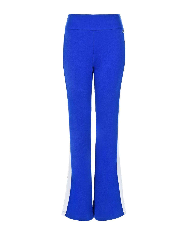 Купить Спортивные брюки синего цвета Deha, Синий, 94%хлопок+6%эластан, 10%эластан+90%полиэстер, 100%хлопок