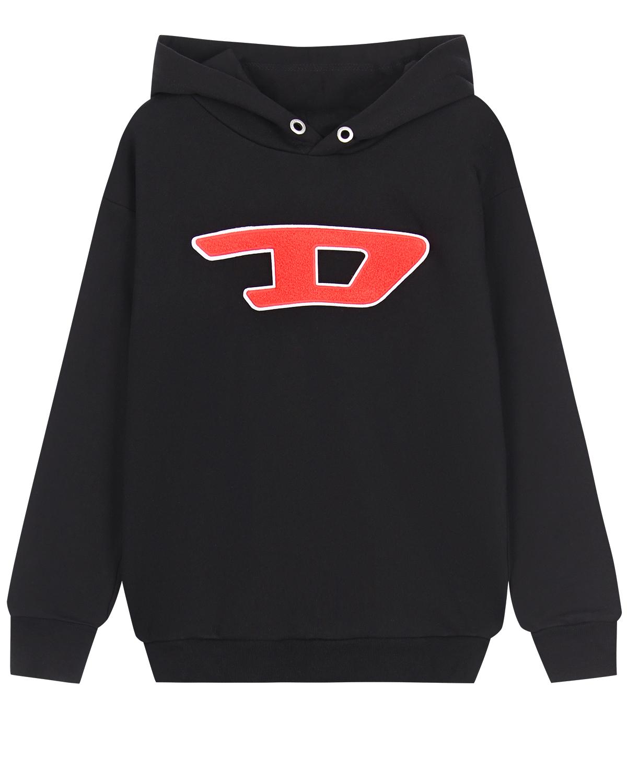 Толстовка-худи с логотипом Diesel детская фото