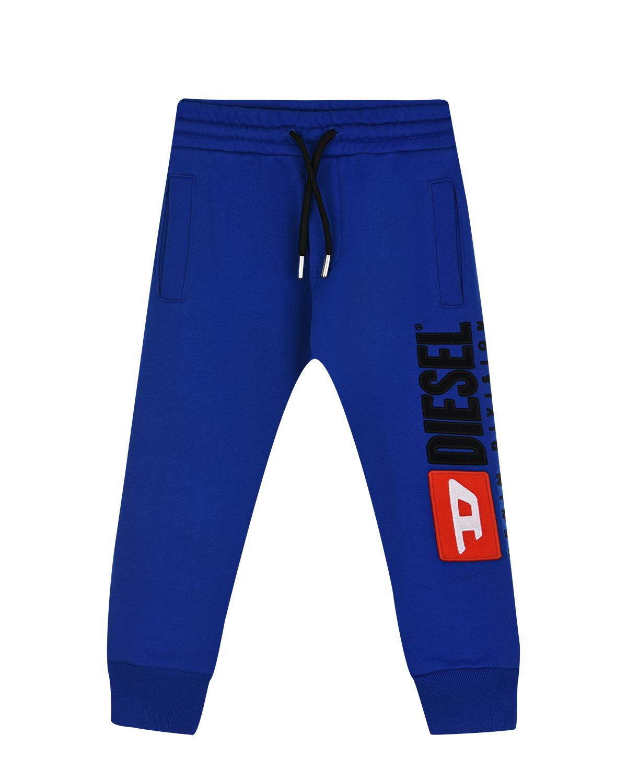Купить Синие спортивные брюки с логотипом Diesel детские