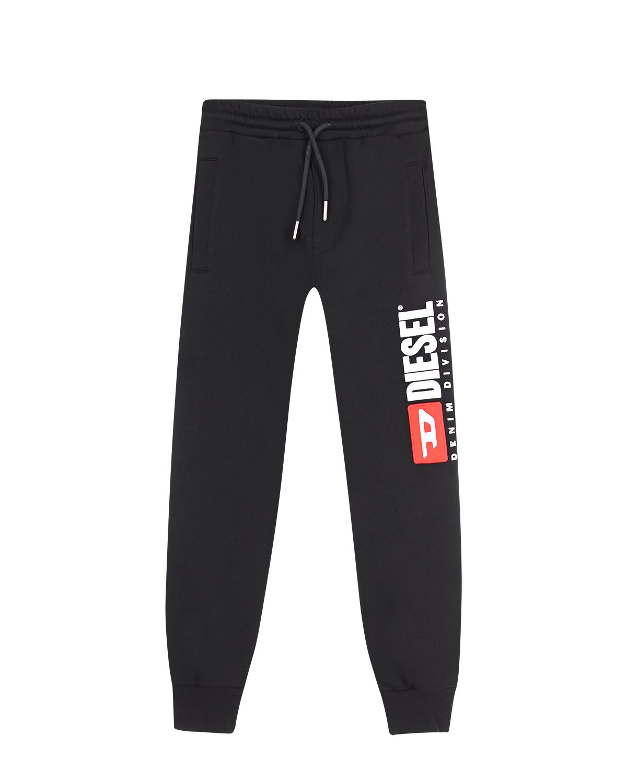 Купить Черные спортивные брюки Diesel детские