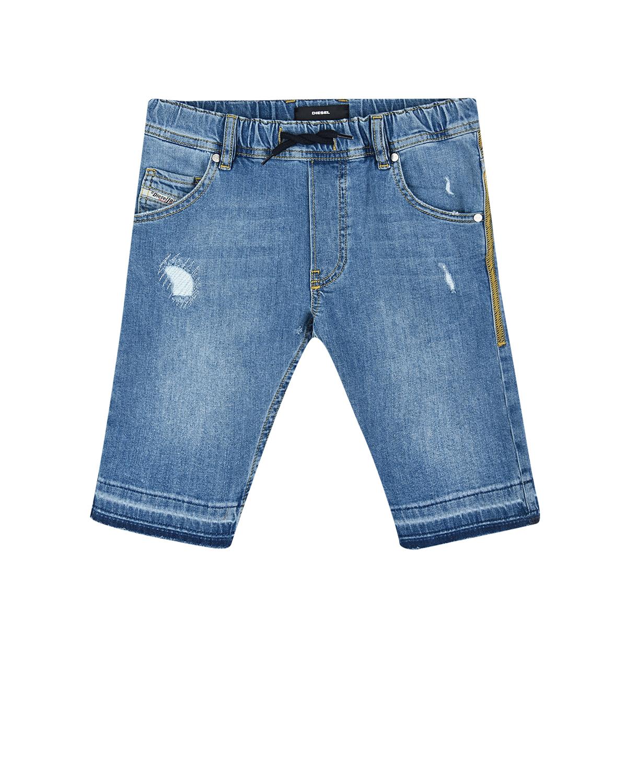 Купить со скидкой Голубые джинсовые шорты Diesel детские