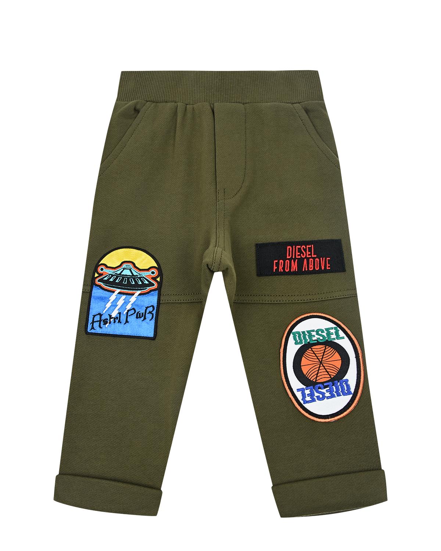 Купить Спортивные брюки с патчами Diesel детские