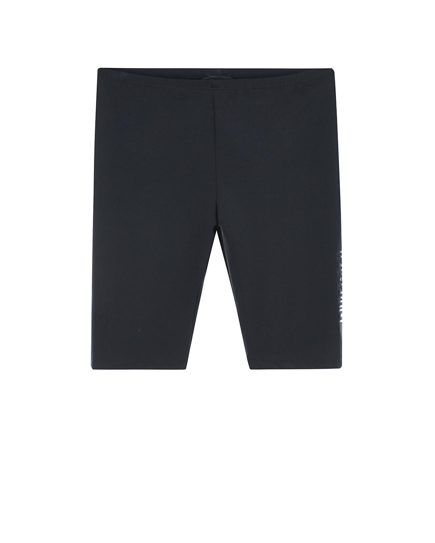 Купить Черные шорты с логотипом Diesel детские, Черный, 80%нейлон+20%эластан