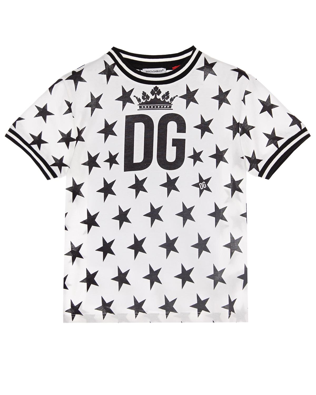 Футболка Millennials Star Dolce&Gabbana детская фото