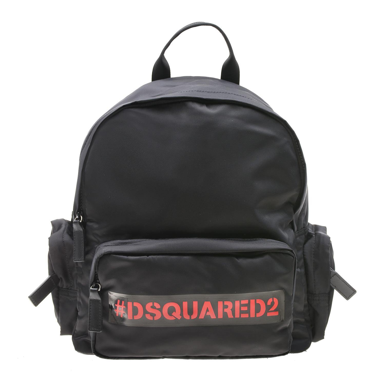 Купить Черный рюкзак с логотипом Dsquared2 детский