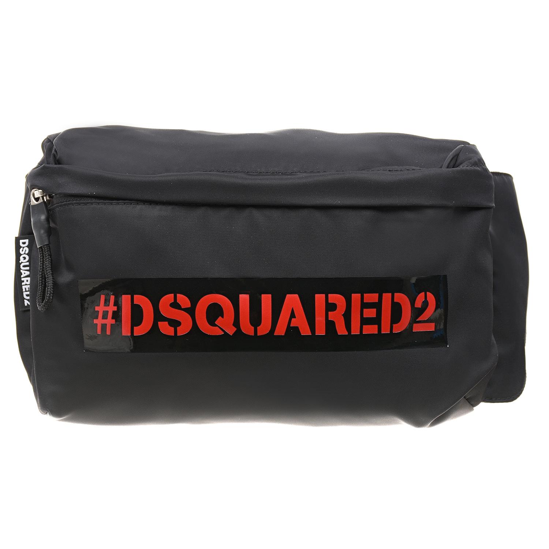 Купить Черная сумка-пояс с логотипом Dsquared2 детская