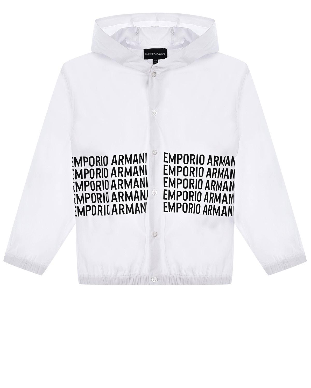 Рубашка с капюшоном Emporio Armani детская фото