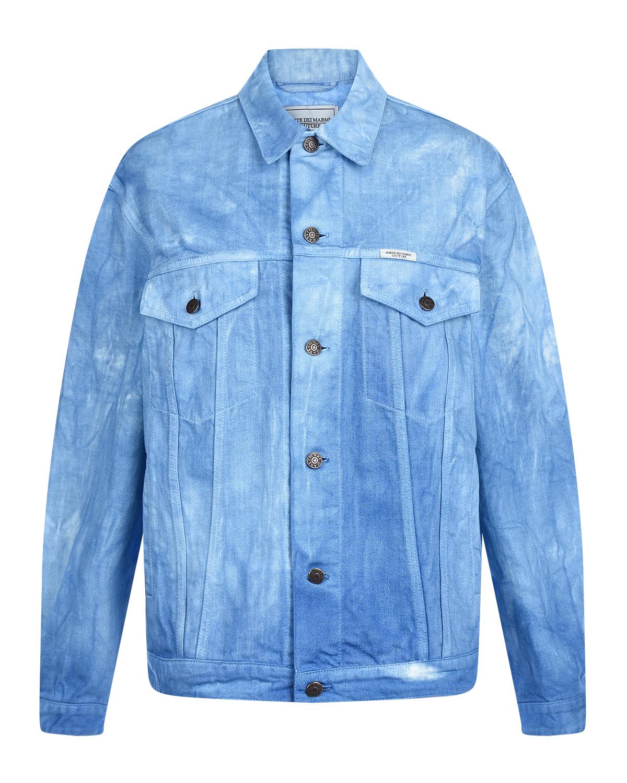 Синяя джинсовая куртка Forte dei Marmi Couture.