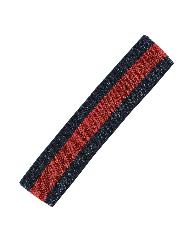 Повязка в красно-синюю полоску GUCCI детская фото