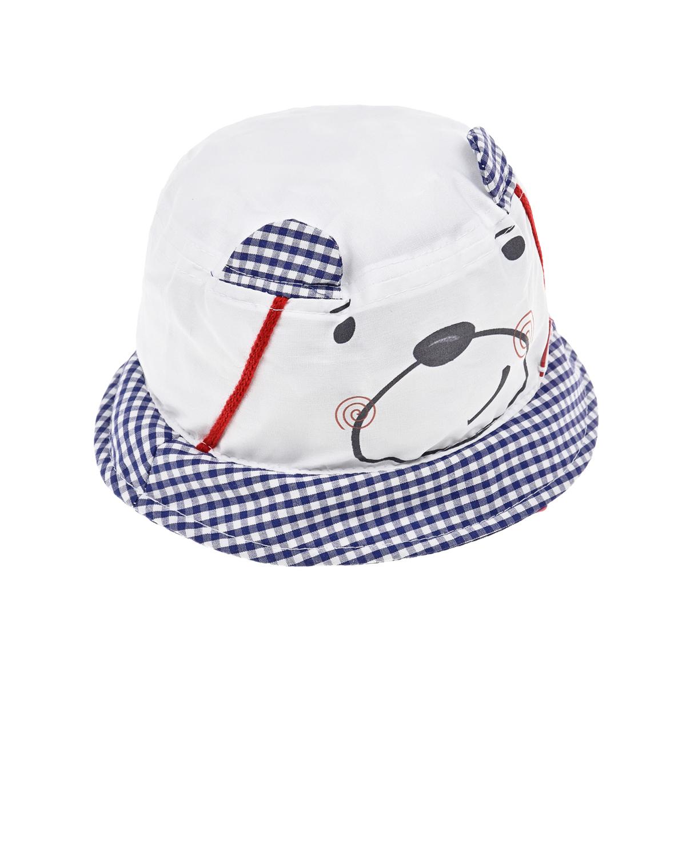 Купить Панама с мишкой Il Trenino детская, Нет цвета, 100%хлопок