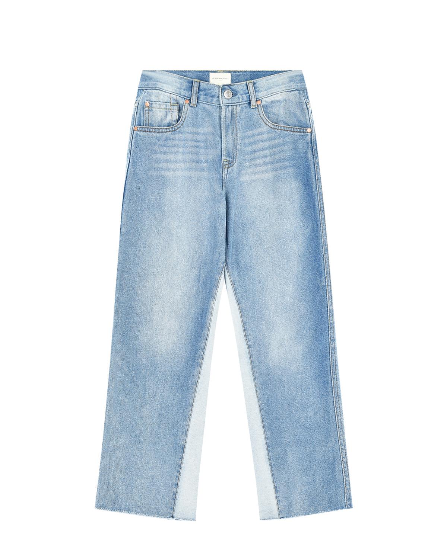Голубые джинсы со светлыми вставками Its in my jeans детские фото