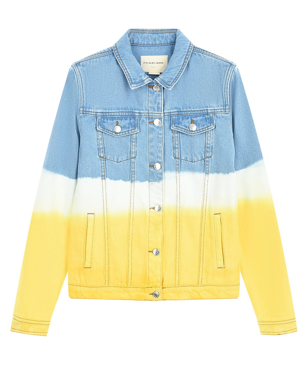 Трехцветная джинсовая куртка Its in my jeans детская фото