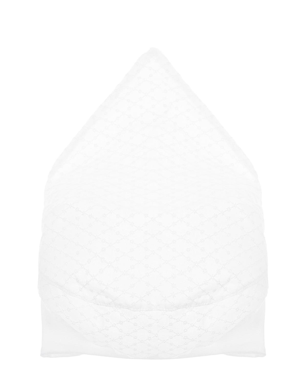 Купить Косынка с английской вышивкой MaxiMo детская, Белый, 100%хлопок, 96%хлопок+4%эластан