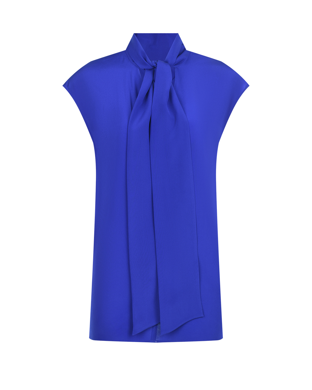 Купить Шелковая блуза с воротником-аскот Joseph