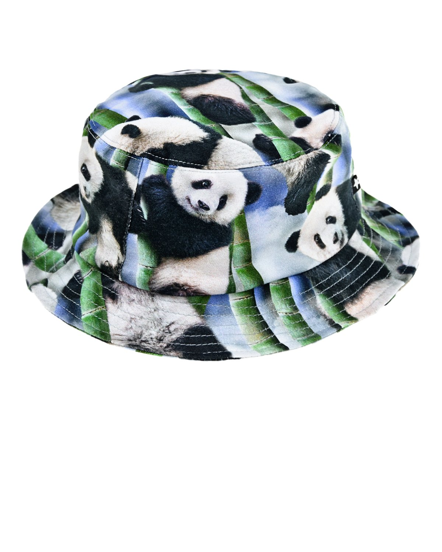 Панама Panda со стегаными полями Molo детская фото