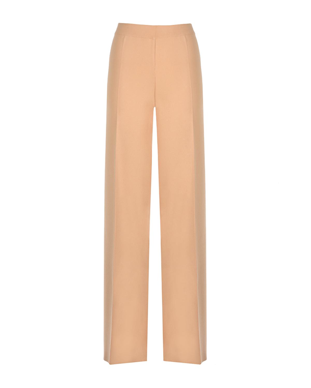Бежевые брюки с высокой талией MRZ фото