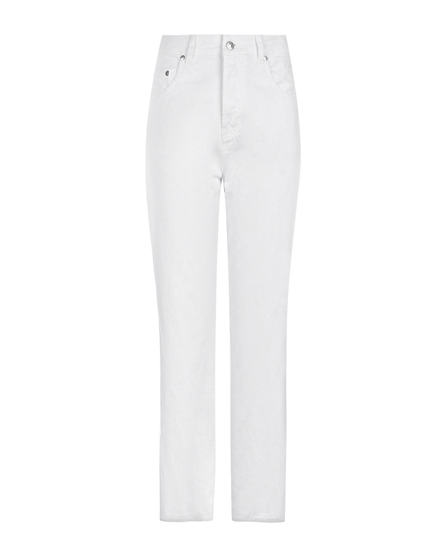 Укороченные джинсы с высокой посадкой MSGM фото