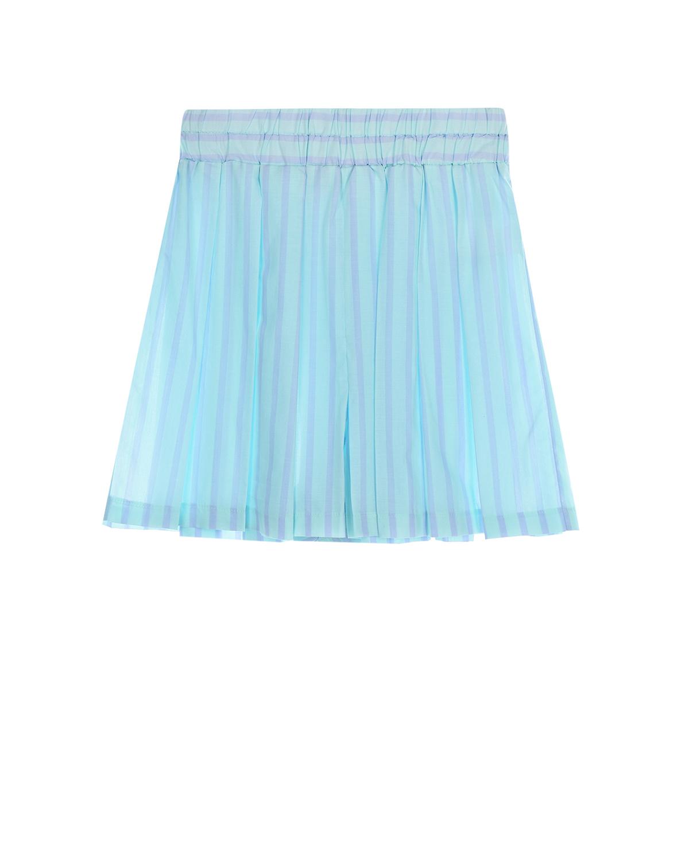 Голубые юбка-шорты Paade Mode детские фото
