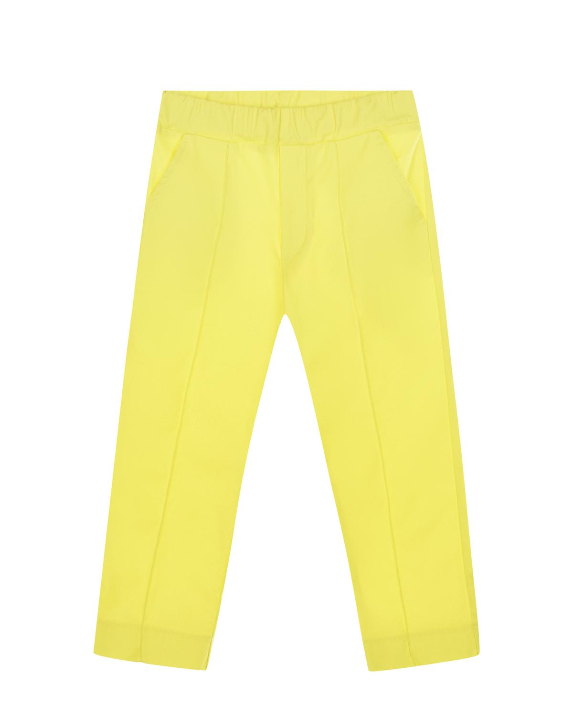 Желтые брюки со стрелками Paade Mode детские фото