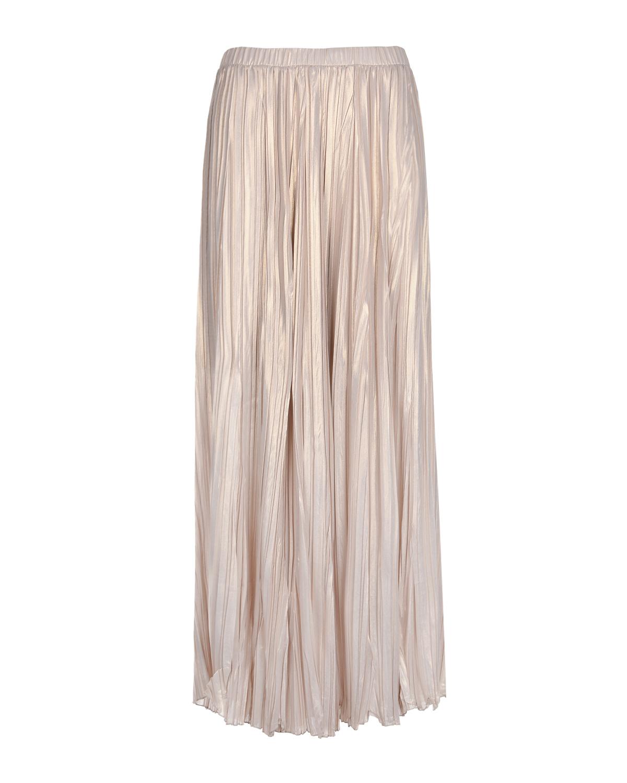 Купить со скидкой Бежевая плиссированная юбка Panicale