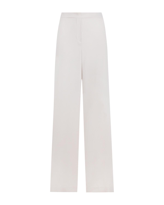 Белые брюки прямого кроя Parosh фото