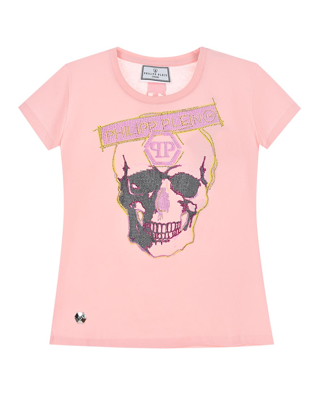 футболка philipp plein для девочки