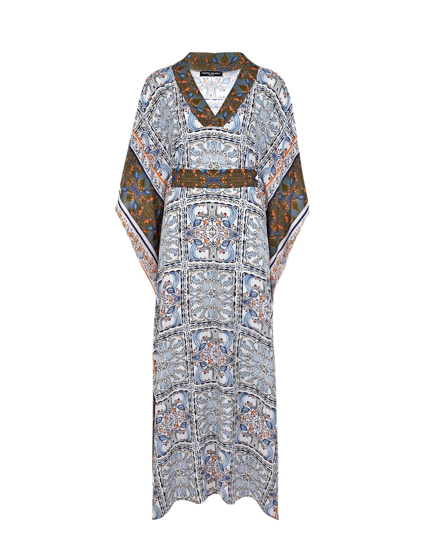 Купить Платье для беременных с принтом Сицилия Pietro Brunelli, Белый, 100%вискоза