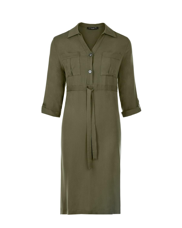 Платье с накладными карманами Pietro Brunelli фото