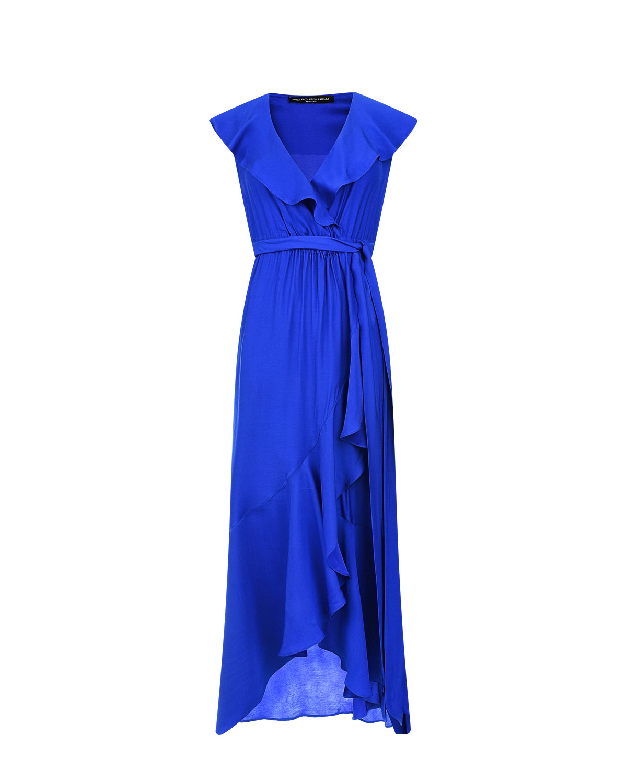 Купить Синее платье для беременных DOROTHEA Pietro Brunelli, Синий, 100вискоза