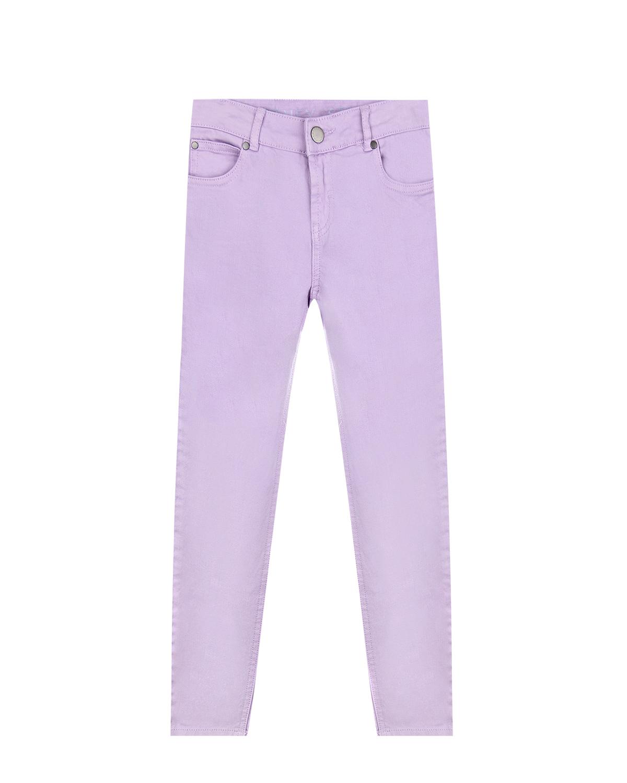 Сиреневые джинсы skinny fit Stella McCartney детские фото